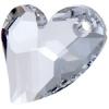 Devoted 2U Heart 36mm Aurora Borealis Crystal